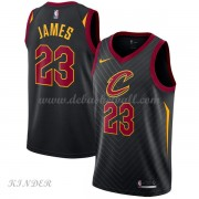 Basketball Trikot Kinder Cleveland Cavaliers 2018 LeBron James 23# Alternate Swingman..